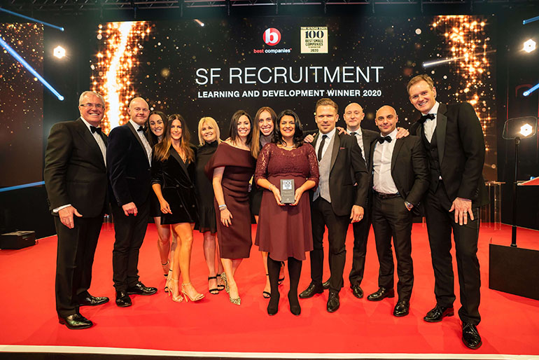 SF Scoops 16th Best Company to Work For in the UK and 5th in the Midlands